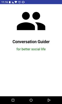 Conversation Guider new poster