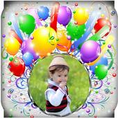 Happy Birthday Frame icon