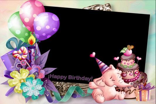 Happy Birthday Frame screenshot 2