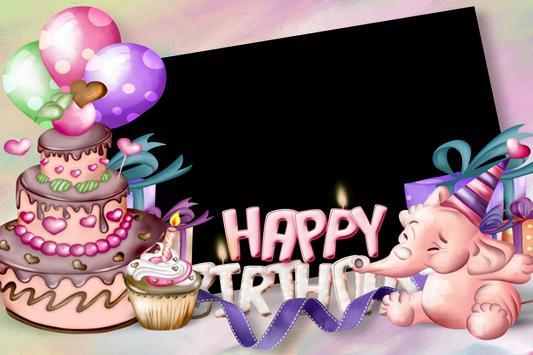 Happy Birthday Frame screenshot 3