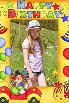 Happy Birthday Photo Frames poster