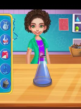 Science Experiments Lab - Scientist Girl screenshot 5
