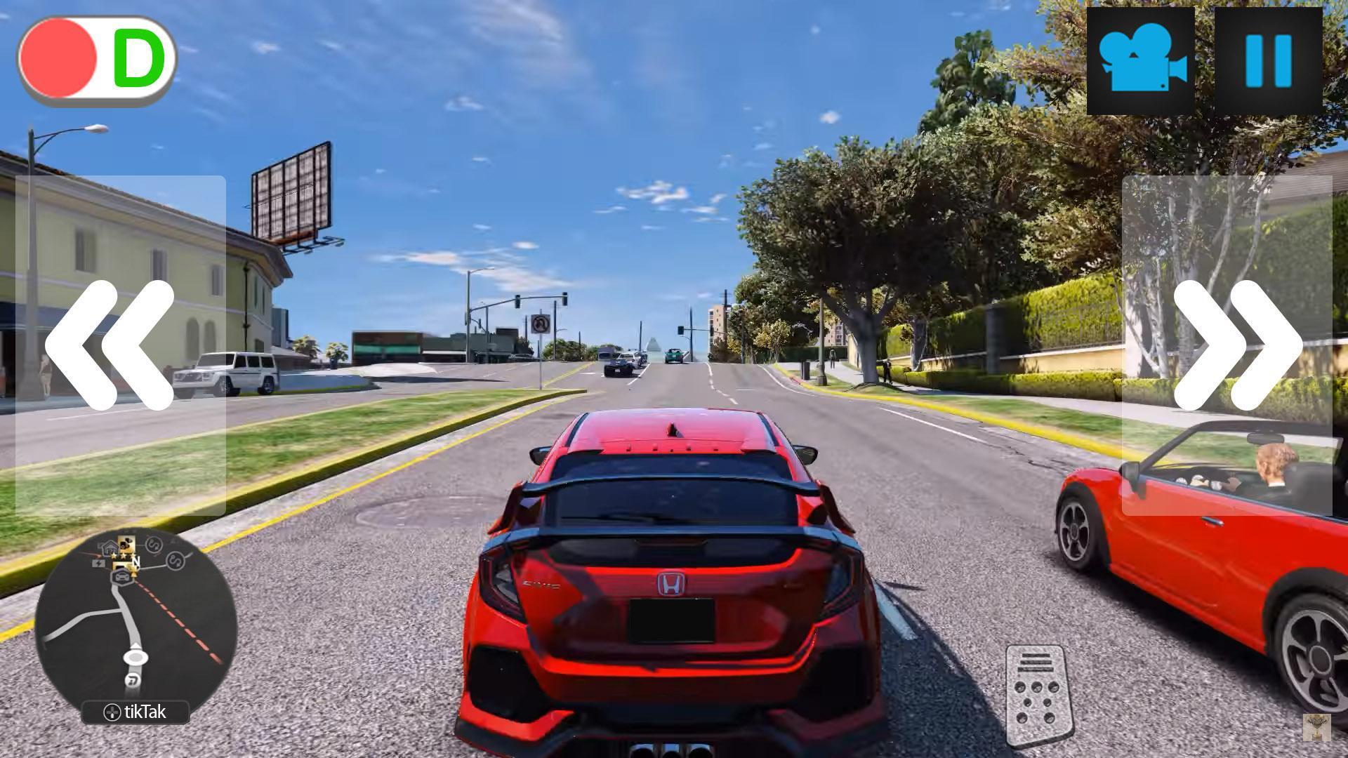 770 Civic Car Games Gratis Terbaik
