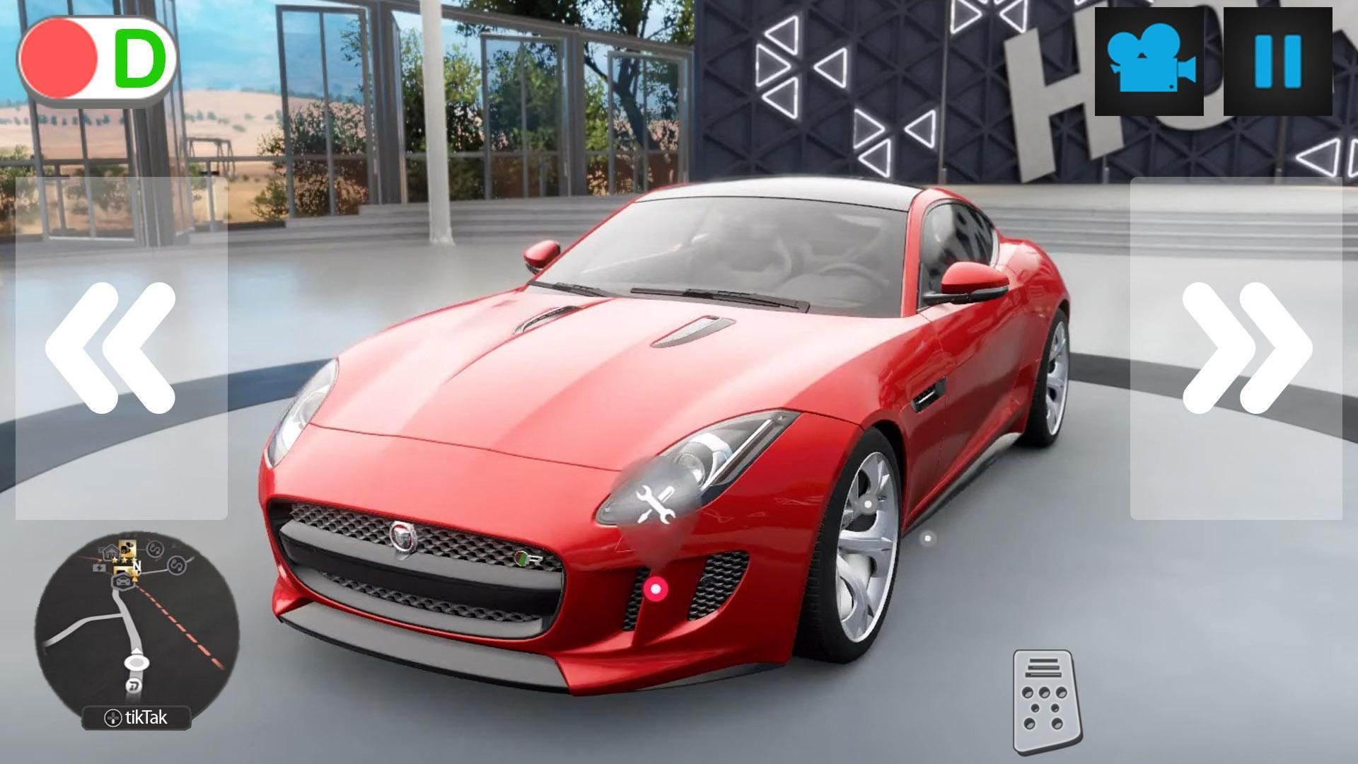 City Driver Jaguar Simulator 1