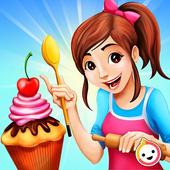Cupcake Bakery Shop - Kids Food Maker Games icon