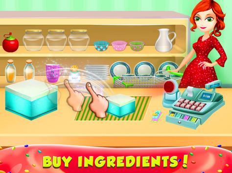 Cupcake Bakery Shop - Kids Food Maker Games apk screenshot
