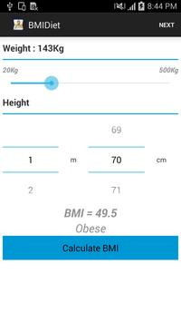 BMI & Time Diet poster