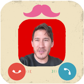 Call from Markiplier Prank icon