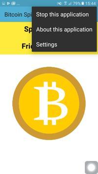Bitcoin Spinner screenshot 1
