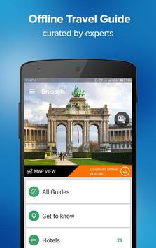 Brussels Travel Guide poster