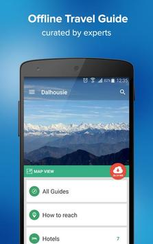Dalhousie Travel Guide & Maps poster
