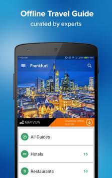 Frankfurt Travel Guide poster
