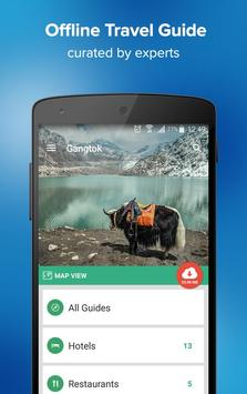 Gangtok Travel Guide & Maps poster