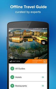 Geneva Travel Guide poster