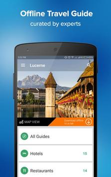 Lucerne Travel Guide poster