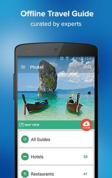 Phuket Travel Guide & Maps poster