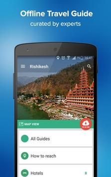 Rishikesh Travel Guide & Maps poster