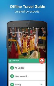 Shillong Travel Guide & Maps poster