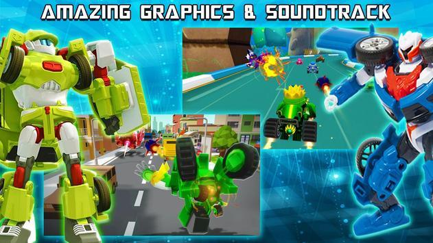 Racing Tobot X Evolution screenshot 4