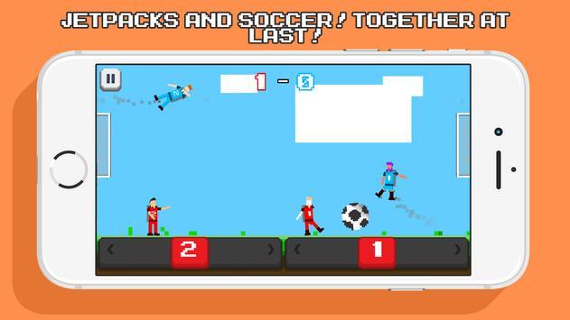 Jetpack Soccer poster