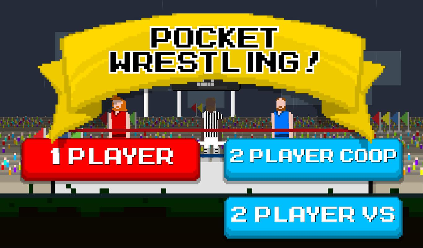 wrestling 2 player games