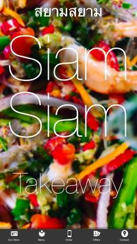 Siam Siam Takeaway poster