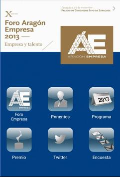 Foro Empresa 2013 poster