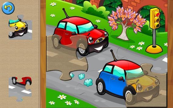 cars for kids puzzle games apk screenshot