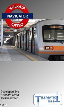 Kolkata Metro Navigator poster