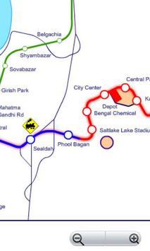 Kolkata Metro Navigator screenshot 1