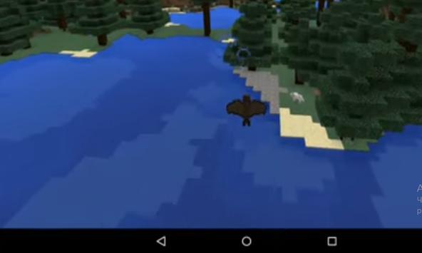 Bat simulator addon for MCPE apk screenshot