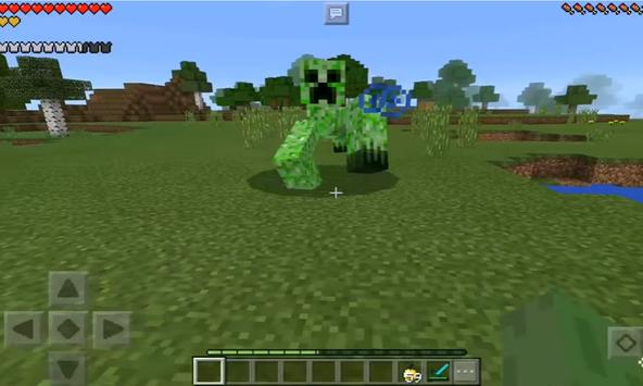 Mutant Creatures addon for MCPE poster