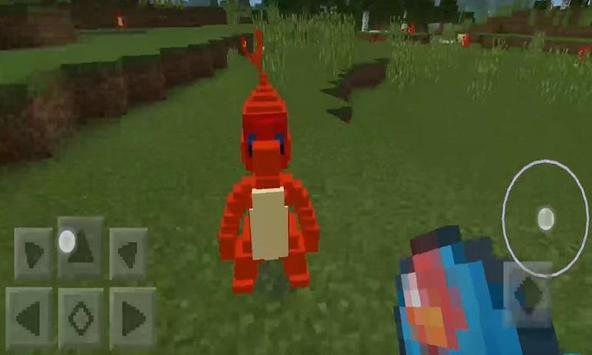 Pokecraft addon for MCPE apk screenshot