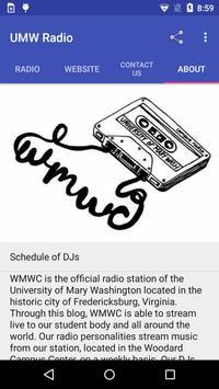UMW Radio Simplicity screenshot 2