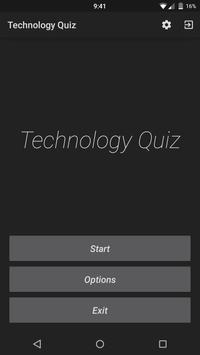 Technology Quiz poster