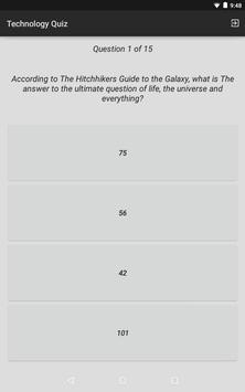 Technology Quiz screenshot 8