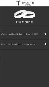 Timantti Medidor de Anillos screenshot 1