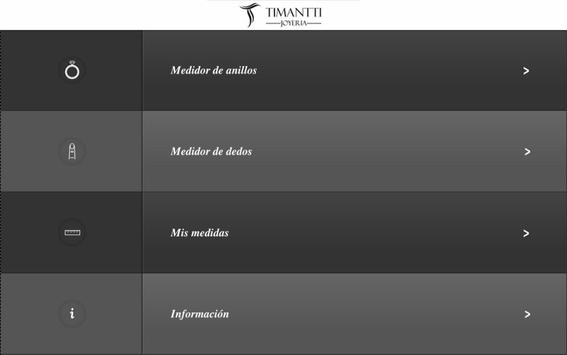 Timantti Medidor de Anillos screenshot 3