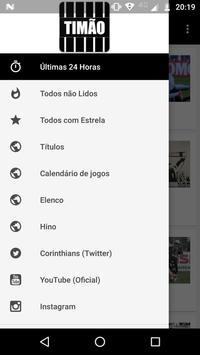 Notícias do Corinthians Timão poster