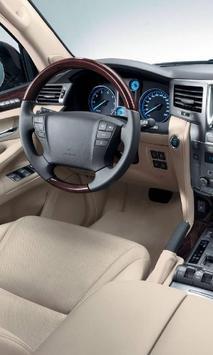 Themes Lexus LX570 poster