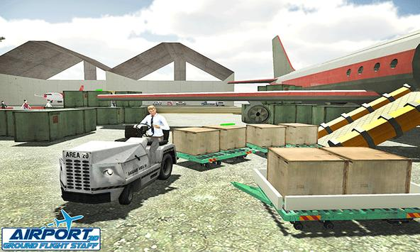 Airport Ground Flight Staff 3D screenshot 2