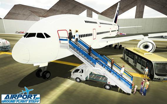 Airport Ground Flight Staff 3D apk screenshot