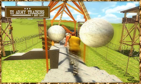 US Army Training Boot Camp 3D screenshot 2