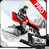 Winter Snowmobile Rider 3D icon