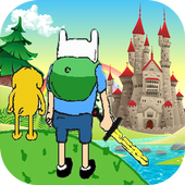the adventure of all time land icon