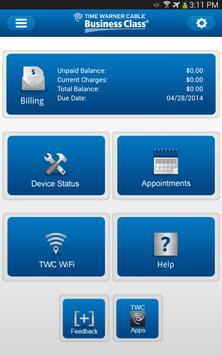 TWC Business apk screenshot
