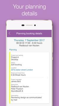 Timewax Planning & Time sheet apk screenshot
