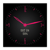 Timeless-Pink Watch Face icon