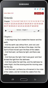 King James Version Bible -KJV apk screenshot