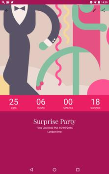 Countdown by timeanddate.com apk screenshot
